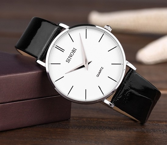 whole cheap hot brand sinobi ultra thin case men s causal whole cheap hot brand sinobi ultra thin case men s causal quartz watch inveted submersible the trend of fashion men watches in casual watches from