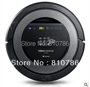 Free Shipping/ 2800Mah Battery 2014 New Arrival Black Color Cleanmate QQ5 Fully Automatic Robot Vacuum Cleaner Patent Sonic Wall(China (Mainland))