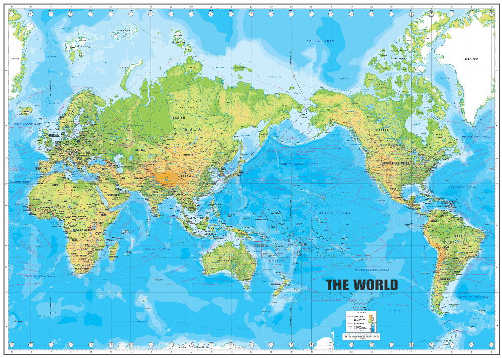 Free World Map Poster images