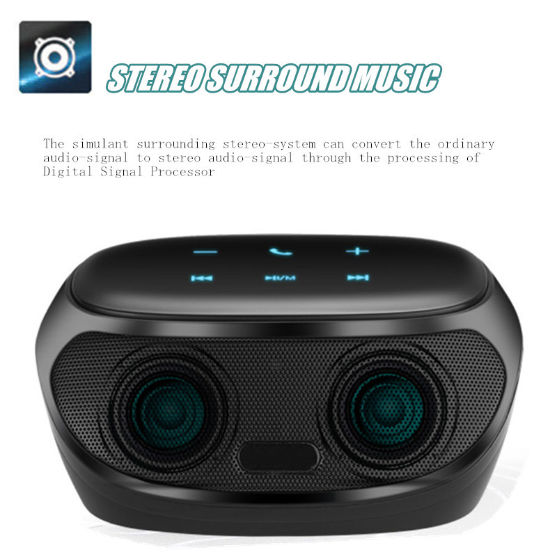 2016 New Arrival High Standard Portable Bluetooth Speaker For iphone all Mobiles Tablet PC With Touch Screen(China (Mainland))