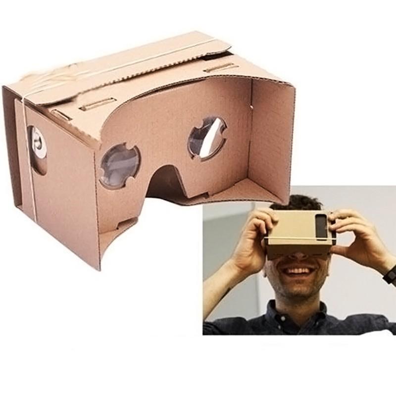"Гаджет  DIY Google Cardboard High quality  Virtual Reality VR Mobile Phone 3D Viewing Glasses for 5.0"" Screen Google VR 3D Glasses None Бытовая электроника"
