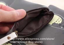 Hot 4 Types Cute Totoro PU Coin Purses Cartoon Waterproof Portable Bags For Card In ear