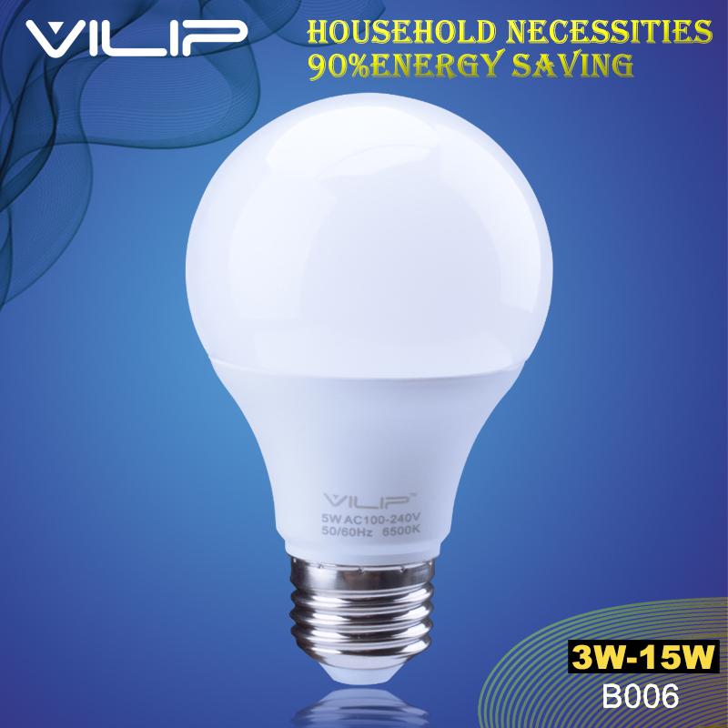 Vilip garden light E27 B22 led Light bulb SMD2835 3w 5w 7w 9w 12w 15w 110v 220v 110v 220v Home Office LED flashlight lamp b006(China (Mainland))