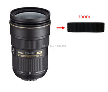 Lens Zoom Rubber Ring/Rubber Grip Succedaneum repair parts For Nikon AF-S 24-70MM 24-70mm f/2.8G ED lens