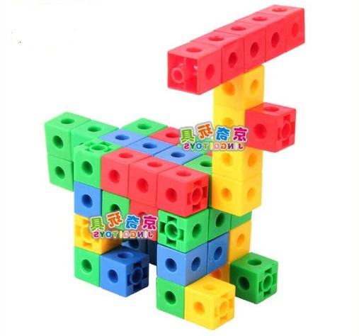 Candice guo! New arrival hot sale colorful plastic toy square cube blocks DIY educational toy<br><br>Aliexpress