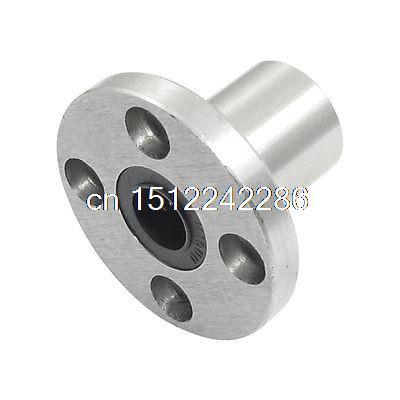 LMK10UU 10x19x29mm Round Flange Type CNC Linear Motion Rubber Shield Bearing(China (Mainland))