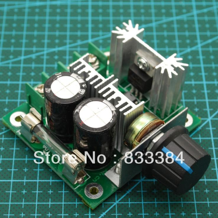 Wholesale!!!High recommend 6V- 90V 15A 12V 24V Max 1000W PWM 15khz DC Motor Speed Control PWM Controller free post(China (Mainland))