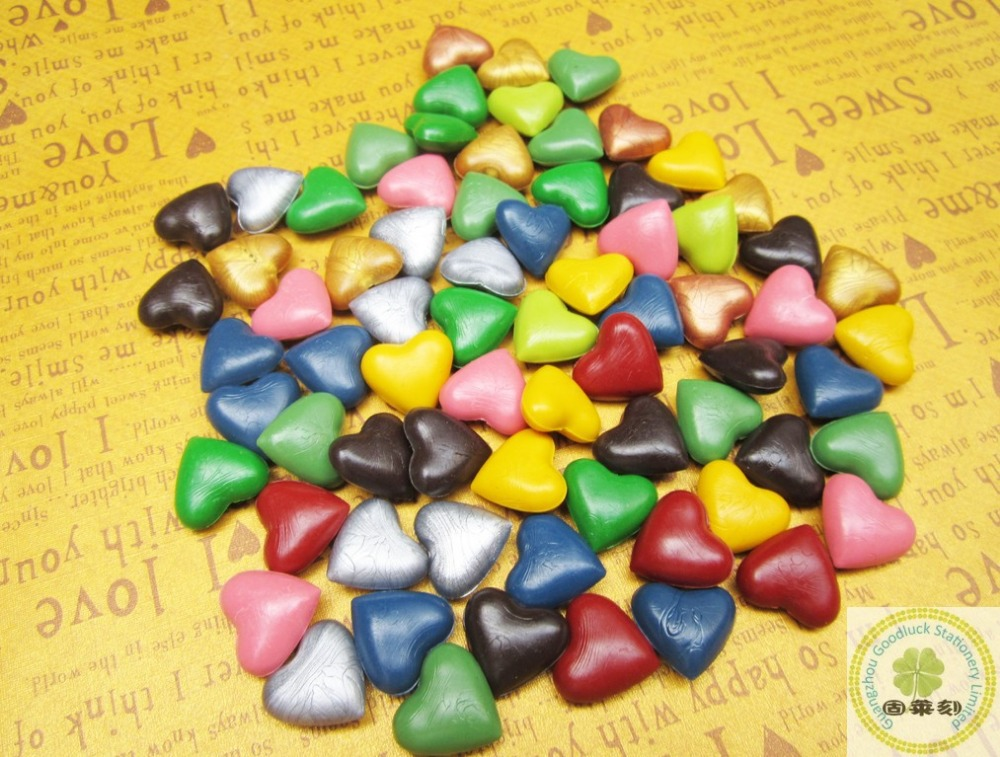 Custom pattern heart shaped block sealing wax grain(China (Mainland))