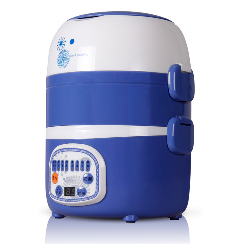 Small, low-power mini-cooker cooking 1-2 triple insulation heating lunch box is unplugged student dormitory(China (Mainland))