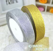 20 мм ширина блеск ленты подарочная упаковка ремень свадебное ну вечеринку рождественские украшения ленты принадлежности для шитья 10Y