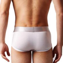 Brand Men's Underwear Boxers Hot Sale Plus Size Sexy Panties Underwear Man White Boxer Model Shorts(China (Mainland))