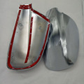 Fit For 2004 2012 Peugeot 307 CC SW 407 Door Side Wing Mirror Chrome Cover Rear