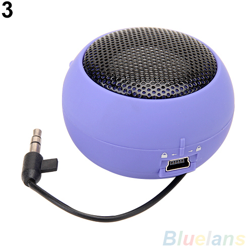 Mini Portable Hamburger Speaker Amplifier For iPod iPad Laptop iPhone Tablet PC 2KAB(China (Mainland))