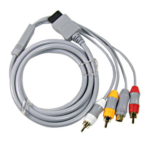 RCA Audio AV Video S-Video Cord Cable for Nintendo Wii(China (Mainland))