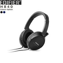in Stock Edifier H840 Super Deep Bass Bests Sound Studio Monitor HIFI DJ Music Stereo Computer Mobile DV Headphones Headset(China (Mainland))