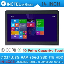2015 latest industrial all in one touchscreen computer with10 point capacitive touch 8G RAM 256G SSD 1TB HDD(China (Mainland))