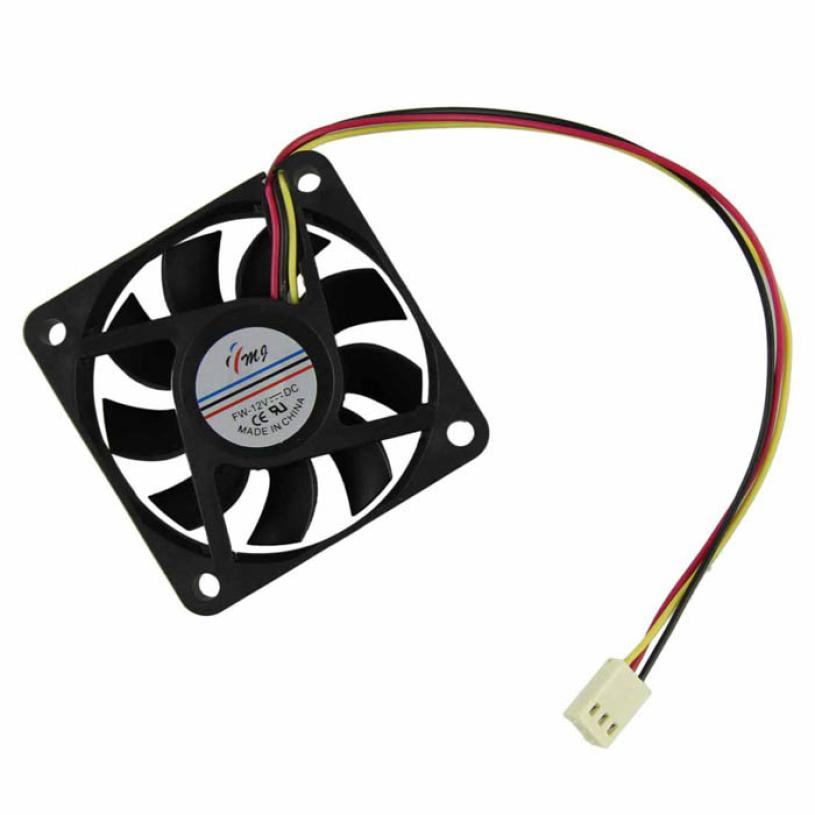 Top Quality 60mm PC CPU Cooling Fan 12v 3 Pin Computer Case Cooler Quiet Molex Connector Easy Installed Apr8(China (Mainland))