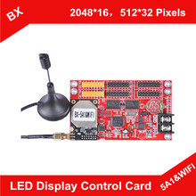BX-5A1&WIFI ONBON P10 Single Color and Double Color Wireless LED Display Controller (China (Mainland))