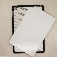 50 pcs Wholesal 2D sublimation PC case for iPad Air iPad 2 3 4 iPad mini sublimation white matte glossy DIY case for iPad mini(China (Mainland))