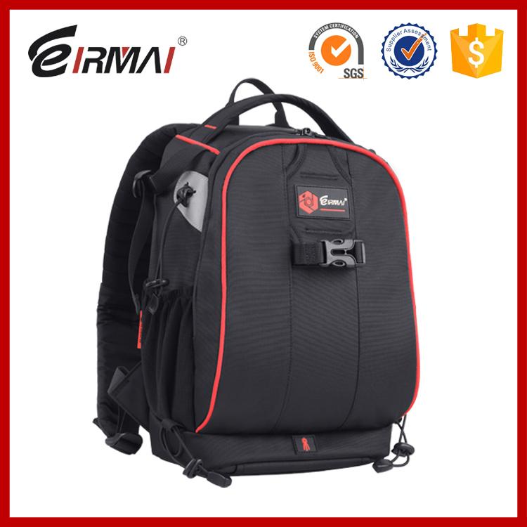 Eirmai SLR camera bag Shoulder camera bag professional digital SLR photography backpack bag multifunction Crossbody(China (Mainland))