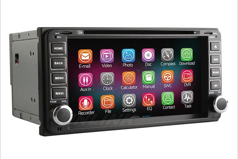 2din android44 car dvd radio gps navi for toyota corolla