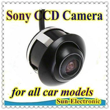SONY CCD HD night vision car rear view camera front view rear view monitor for 360 degree Rotation Panoramic Universal camera(China (Mainland))