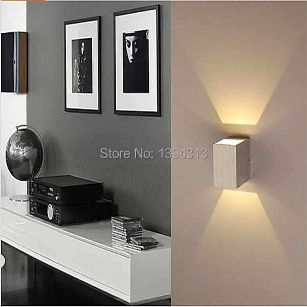 10pcs/lot 1w led wall light up and down /led stair wall light 2year warranty<br><br>Aliexpress