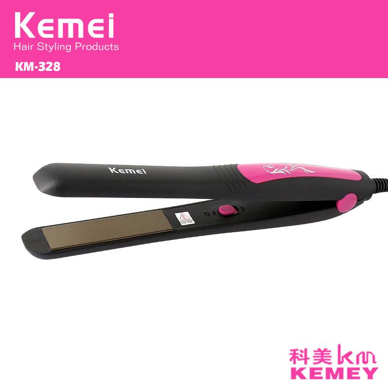 Z047 kemei alisador de cabelo alisamento de ferro pranchas de cabelo profissional curling ferros chapinha de cerâmica de estilo
