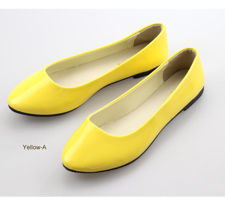 Новый 2015 мода тенденция женские туфли твердых конфеты цвет большой ярдов Кожа PU является высокотехнологичным и высокосортным продуктом. Этот продукт имитирует строение кожи, для его изготовления применяется сверхтонкое волокно и высокосортный полиуретан , производится по новой технологии. Кожа с покрытием PU это внутренние вт обувь женщина квартиры свободного покроя разнообразие удобная обувь