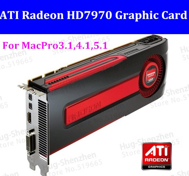 Radeon HD7970 DDR5 3GB PCI-E 2xMini Displayport HDMI DVI -I Graphics video Card For MAC PRO 08-12 3.1-5.1(China (Mainland))