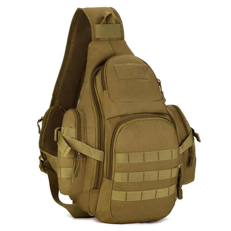 Men Chest Bag Tactical Outdoor Fly Fishing Hiking Equipment Sport Nylon Chest Pack Big Crossbody Sling Travel Men Messenger Bags(China (Mainland))