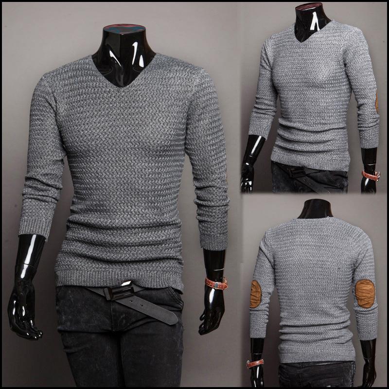 купить Мужской пуловер 2015 v/homme m/xxl 1216-M43 недорого