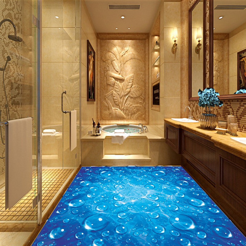 Popular heated wooden floors buy cheap heated wooden for Bathroom 3d wallpaper