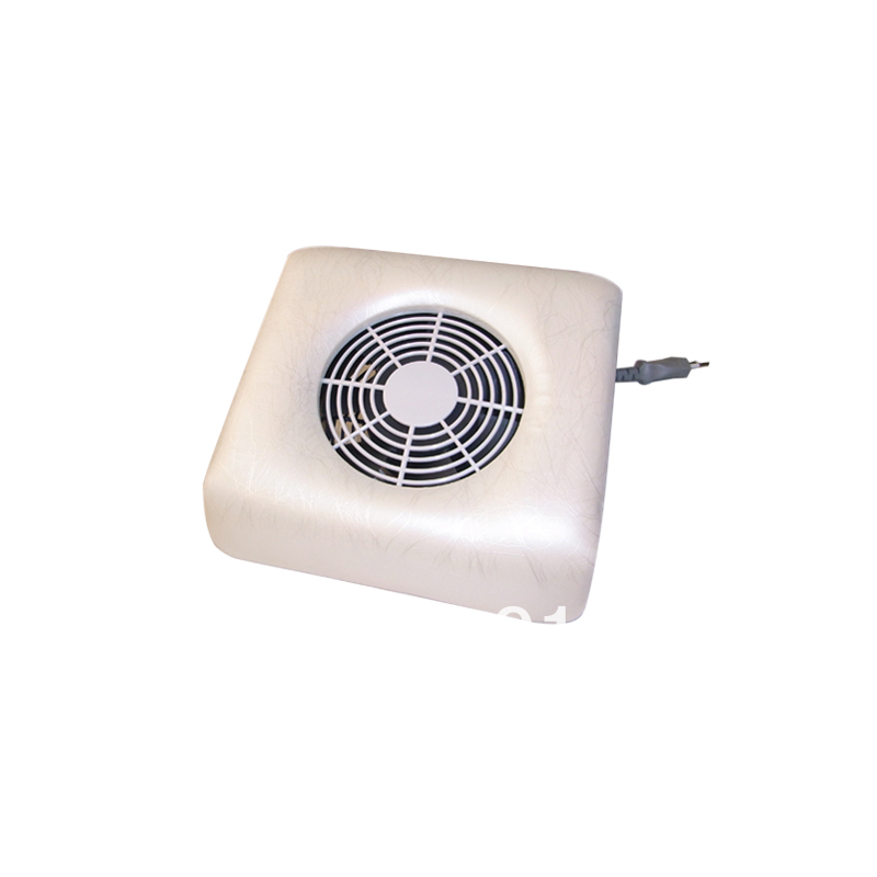 Free shipping New arrival White Nails Duster Dust Collection Systems for Nails Beauty 110V-220V voltage available(China (Mainland))