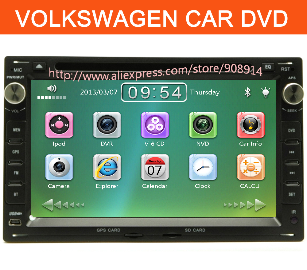 High quality wholesale Car Radio For VW volkswagen PASSAT b5 1996-1999, Bora, Golf 4 Car DVD GPS Navigation(China (Mainland))