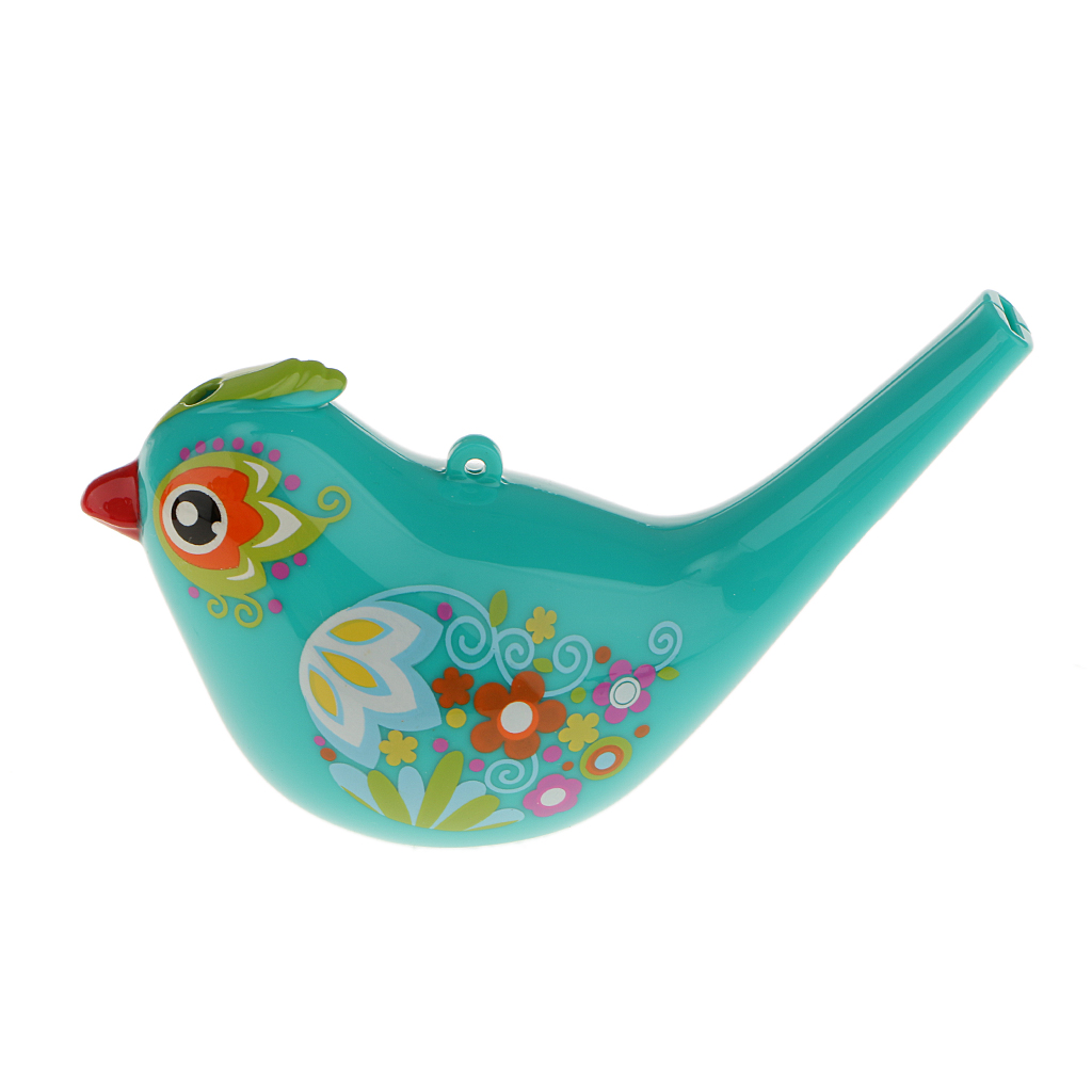 Coloured Drawing Water Bird Whistle Bathtime Musical Toy for Kid Early Learning Educational Children Gift Toy Musical Instrument(China (Mainland))