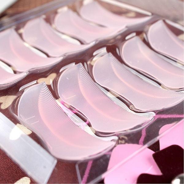 Eyelash Perming Perm Curler Curling Root Lifting False Fake Eyelash Shield Pad Free Shipping(China (Mainland))