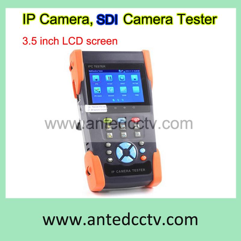 """3.5"""" inch HD-SDI Camera & IP & Analog Camera Tester Monitor, Portable SDI Camera CCTV security Tester(China (Mainland))"""