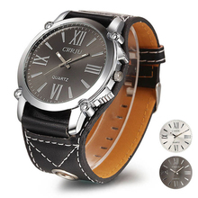 Excellent Quality New Brand Quartz Watches Womens Leather Band Fashion Dress Quartz Wristwatches Roman Numerals Watches gift