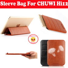"New And High Quality PU Sleeve Messenger Bag Case For CHUWI Hi12 12"" Tablet PC Protectiv Pouch Cover,Free Shipping And Gifts(China (Mainland))"