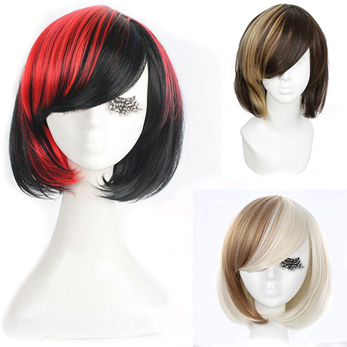 2013-2014 Free Shipping !   30cm Medium light brown/beige straight cosplay wig ZY69c New Promotion<br><br>Aliexpress