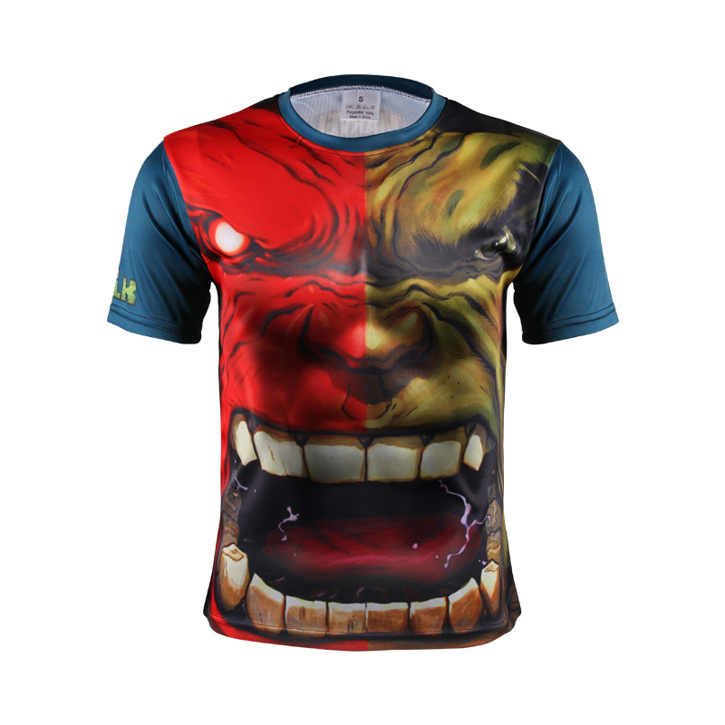 2016 New Summer Casual 3d Printed T-shirts Men Limited Broadcloth Print O-neck Men's Short Sleeve T-shirt Printing Tee Homme(China (Mainland))