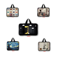 Buy Neoprene waterproof 9.7 10 13 15 17 inch laptop bag tablet sleeve case handle PC computer notebook cover pouch LB-24501 for $6.87 in AliExpress store