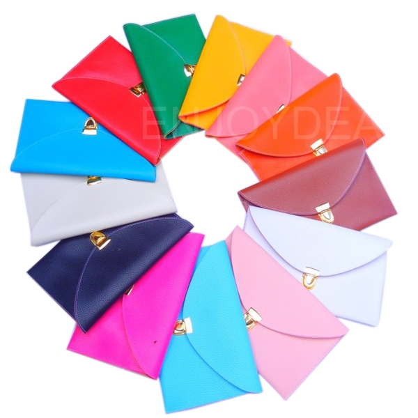 Top Women Envelope Bag Clutch Chain Purse Handbag Shoulder Tote Messenger Bag *2014<br><br>Aliexpress