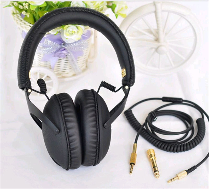Monitor Studio Headphones Major Headphone Good Bass Guitar Rock Headband 3.5mm With Mic Hifi DJ Headset auriculars(China (Mainland))