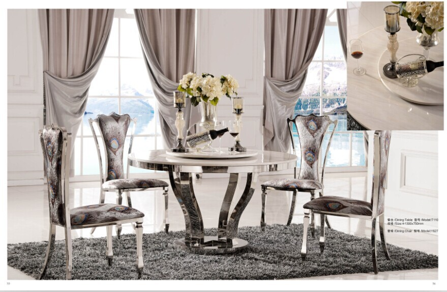 A elegant dining table which structure looks like flower bloom(China (Mainland))