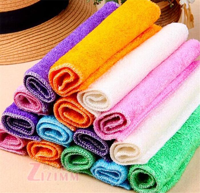 5pcs/lot Stylish kitchen washing cloth Microfiber washing towels Multifunctional kitchen Cleaning Cloth kitchen towel 616(China (Mainland))