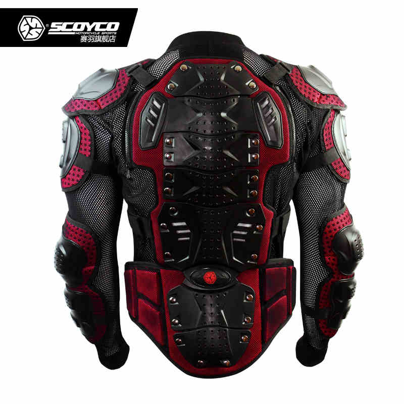 2016 upgrade Motocross Armor Motorcycle Racing Full Protector Gears  Armor Jacket Scoyco AM02-2<br><br>Aliexpress
