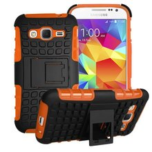 Armor Hard Heavy Duty Case Shock Proof Stand Cover For Samsung Galaxy Core Prime Prevail LTE
