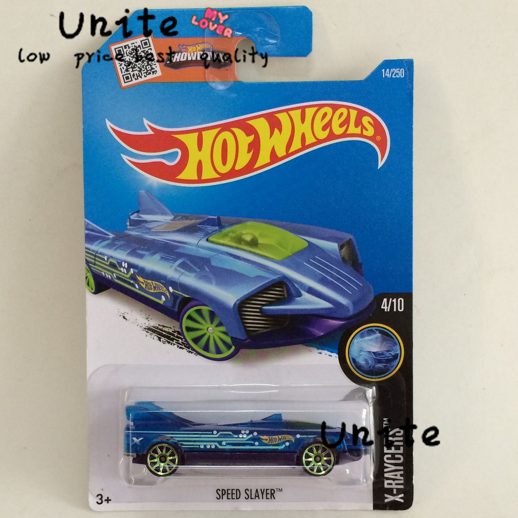 Free Shipping Hot Sale Speed Slayer Alloy Cars Models Special Type Wholesale Metal Mini Cars For Collecter Hot Wheels(China (Mainland))